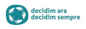 Logotip i lema de l'objectiu Catalunya Democràcia Plena