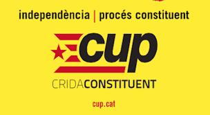 El Grup Parlamentari de la CUP-CC, el primer a adherir-se a la iniciativa.